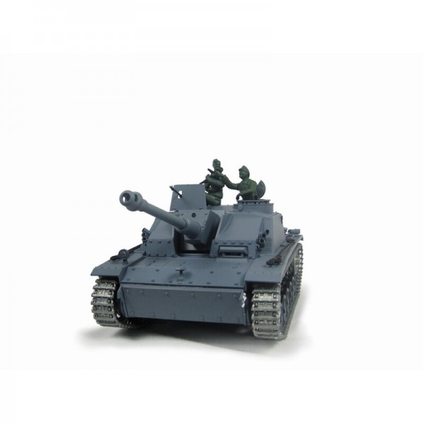 1/16 RC Sturmgeschütz III Ausf. G grau BB (Metallketten)